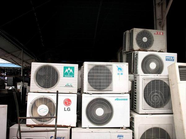 济南空调回收 回收二手 中央空调 水冷机组回收 回收饭店酒店空调